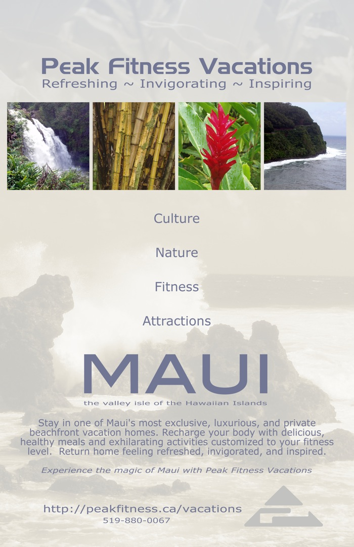 maui fitness vacations